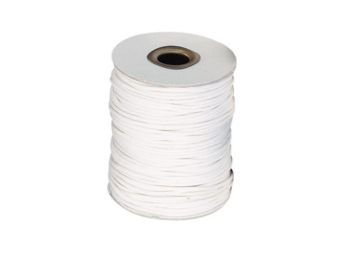 Cotton cord waxed