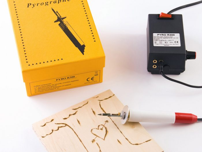 Pyrography apparatus L&B Education