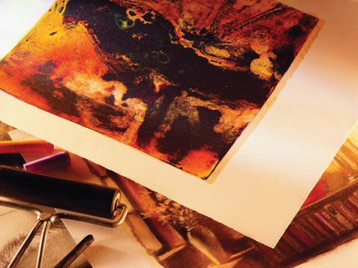 Print making paper Arches Velin BFK Rives