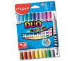 Felt pen ColorPeps Duo 10=20pcs