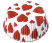 Baking cup 50x25mm Hearts 60pcs blister