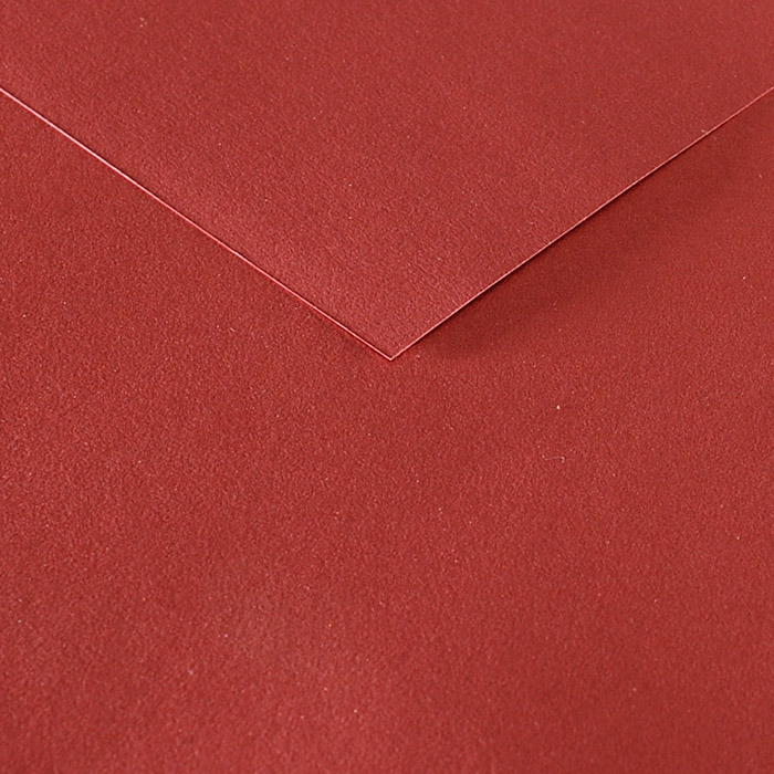 Coloured metallic paper 120g A4 19 red earth