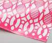 Gift wrap paper 3120mino 500x700mm forest printed in pink