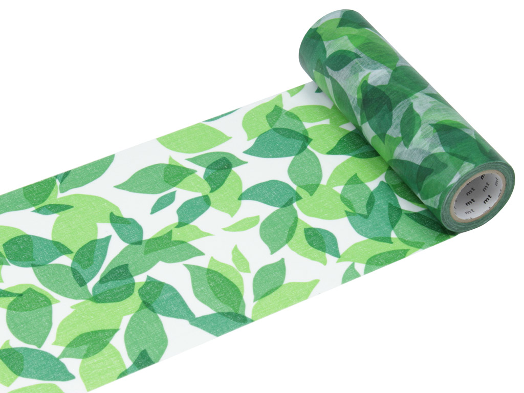 Masking tape mt casa shade 150mmx10m leaf S