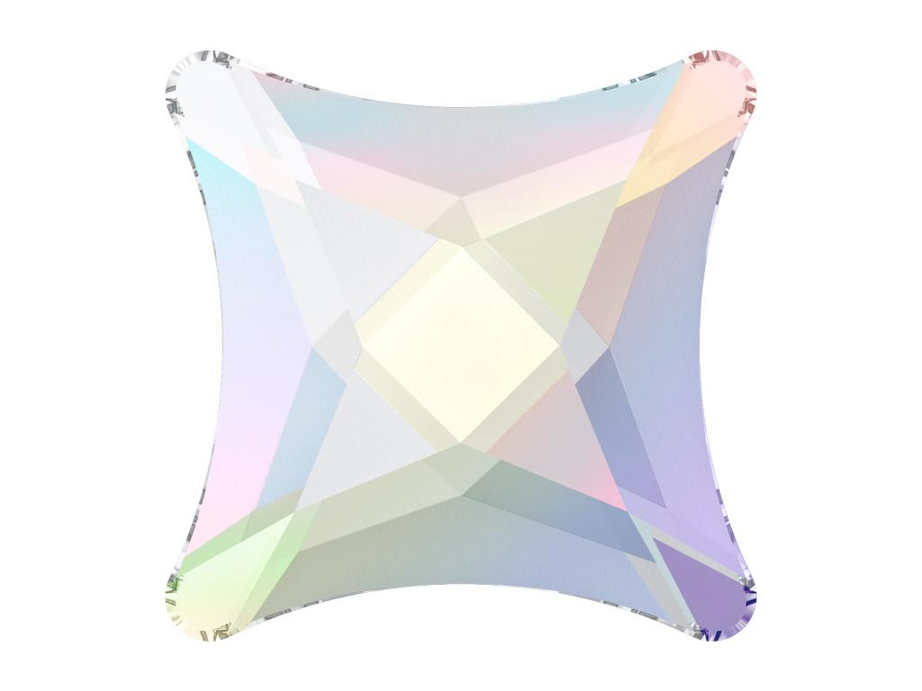 Crystal fancy stone Swarovski Flat Back No Hotfix starlet 2494 8mm 001AB crystal aurore boreale