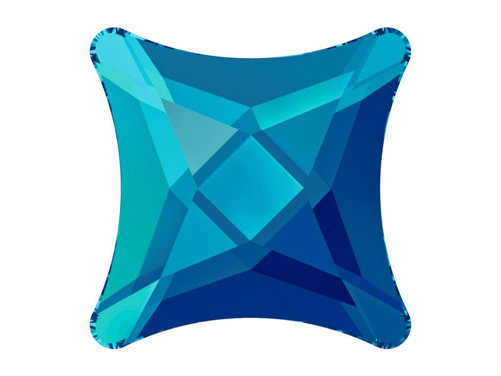 Crystal fancy stone Swarovski Flat Back No Hotfix starlet 2494 8mm 001BBL crystal bermuda blue