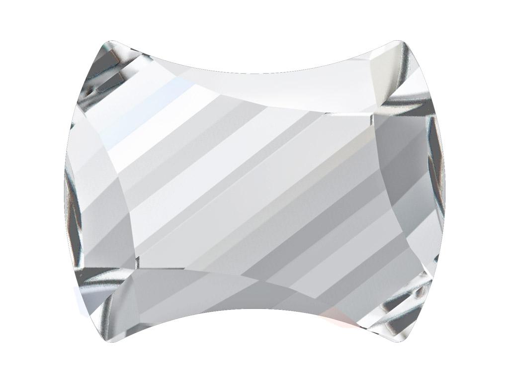 Crystal fancy stone Swarovski Flat Back Hotfix curvey 2540 12x9.5mm 001 crystal