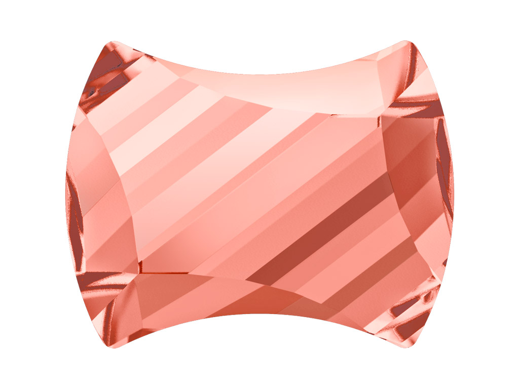 Kristallkivi Swarovski Flat Back Hotfix curvey 2540 12x9.5mm 262 rose peach