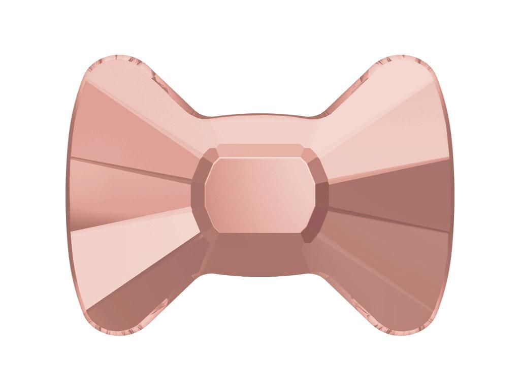 Crystal fancy stone Swarovski Flat Back No Hotfix bow tie 2858 9x6.5mm 319 vintage rose