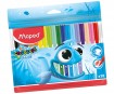 Felt pen ColorPeps Ocean 18pcs