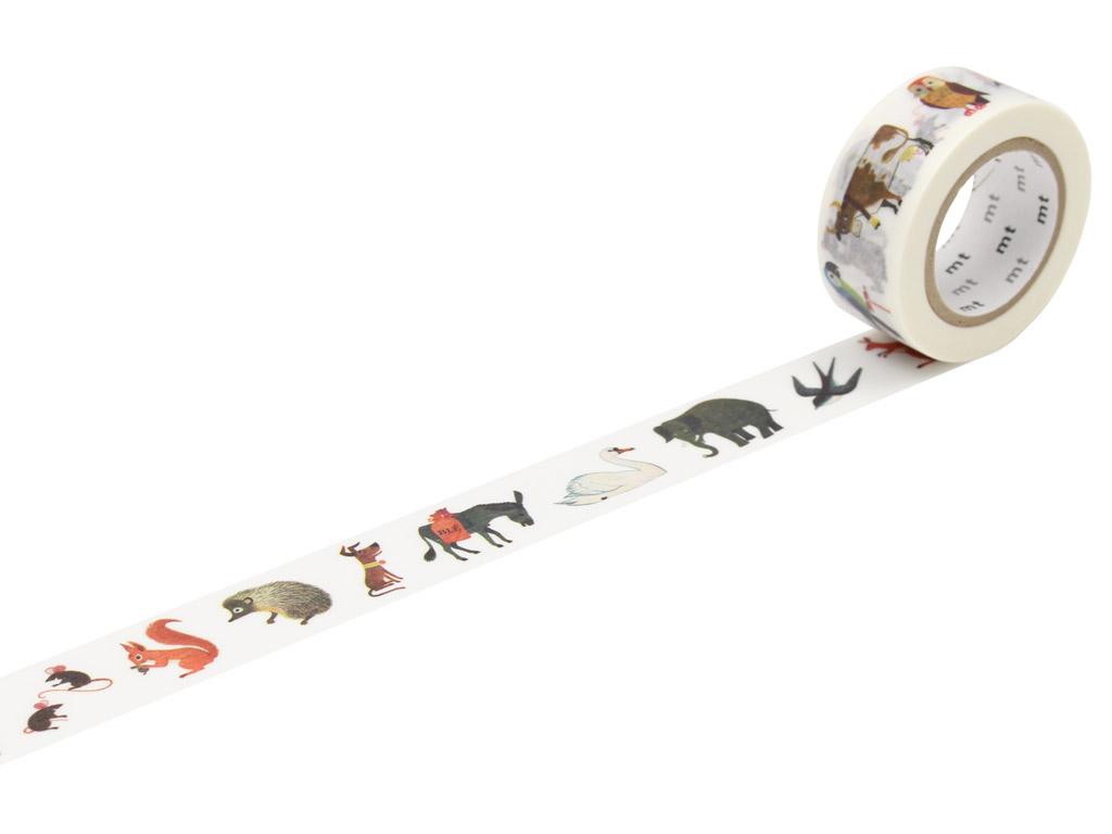 Masking tape mt Alain Gree 20mmx10m animal