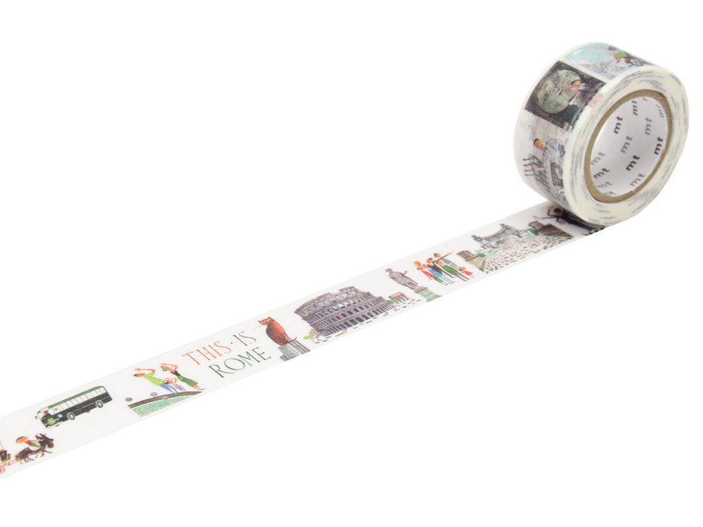 Masking tape mt Miroslav Sasek 23mmx10m this is Rome