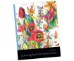 """Colouring book """"Colouring Book for Flower Lovers"""" (Anu Purre)"""