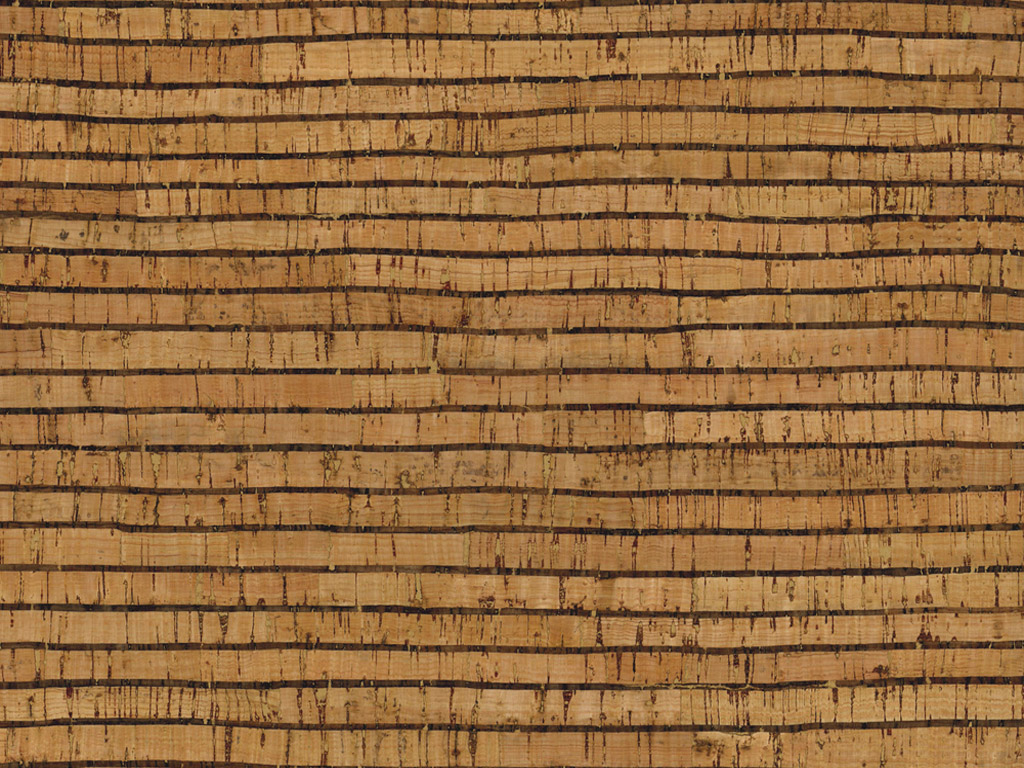 Kork rullis Rayher 0.5mm 45x30cm Stripes naturaalne/must