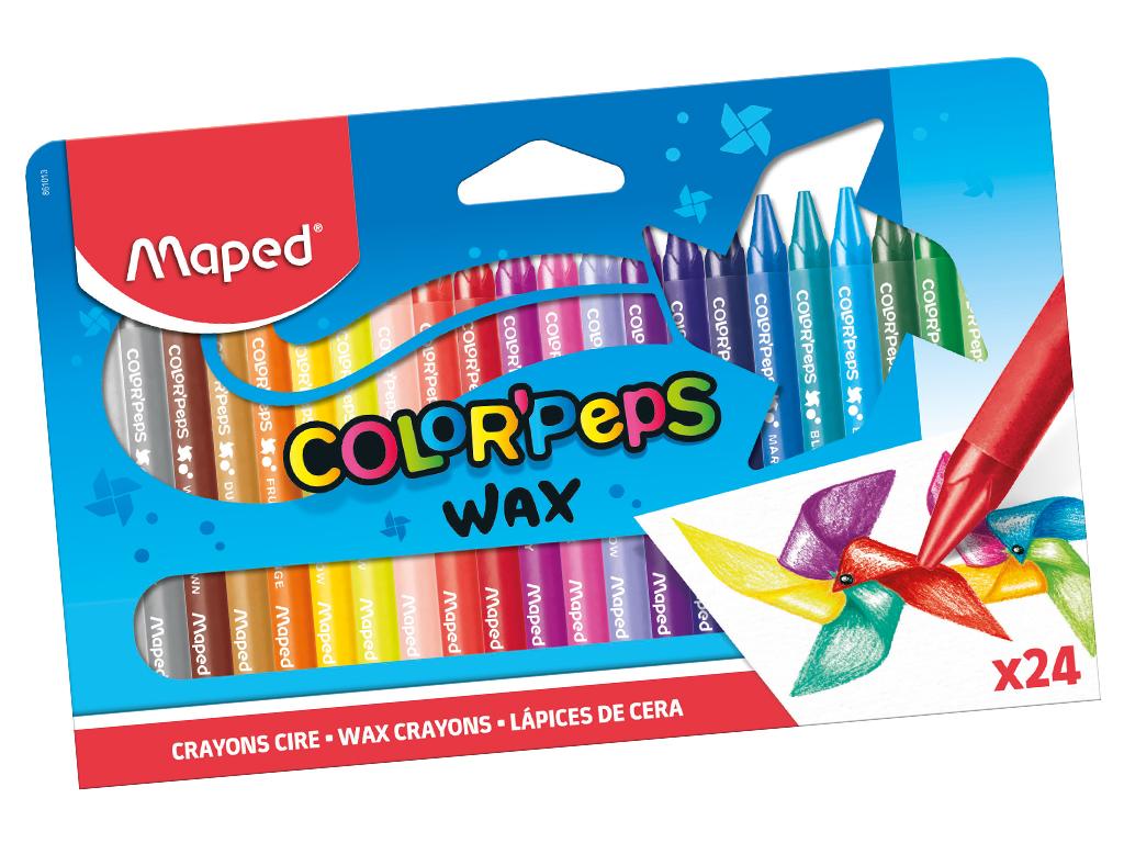 Vaska krītiņi ColorPeps 24gab.