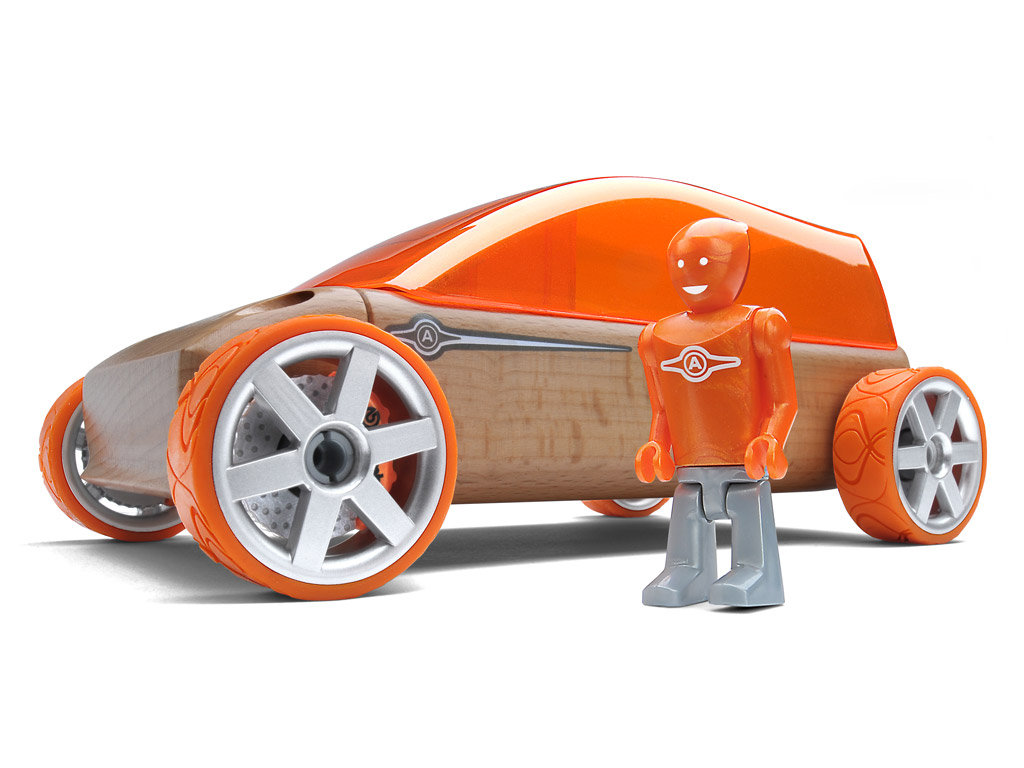 Automoblox Original M9 sportvan orange