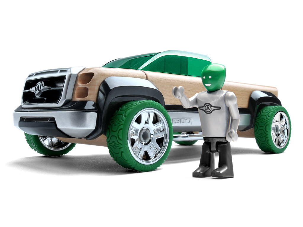 Automoblox Original T900 truck green