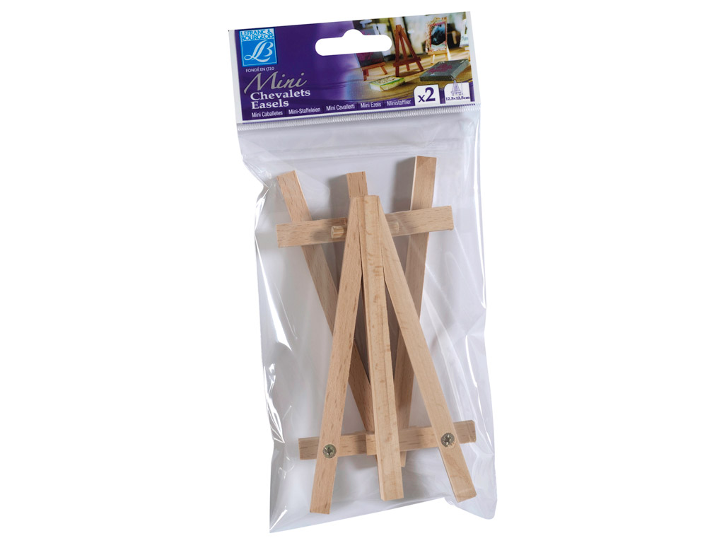 Mini easel L&B 2pcs