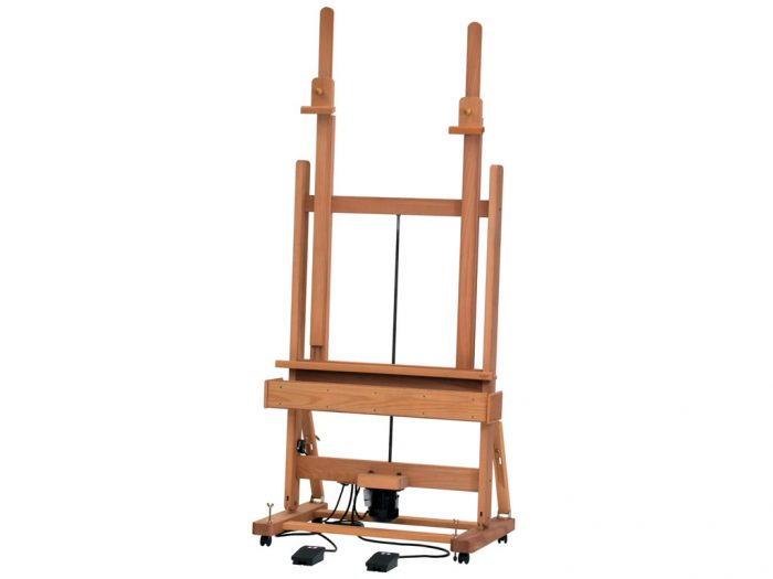 Electric Studio easel Mabef M/02 with double mast - 1/4