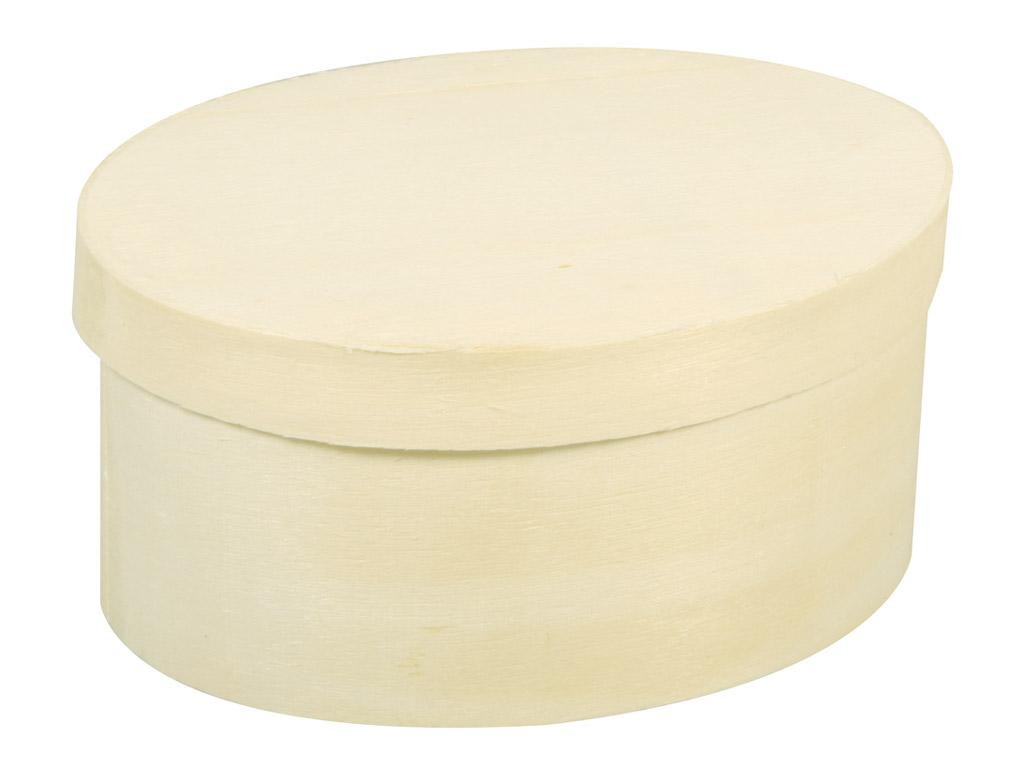 Karp puidust Rayher ovaalne 7x10x5cm