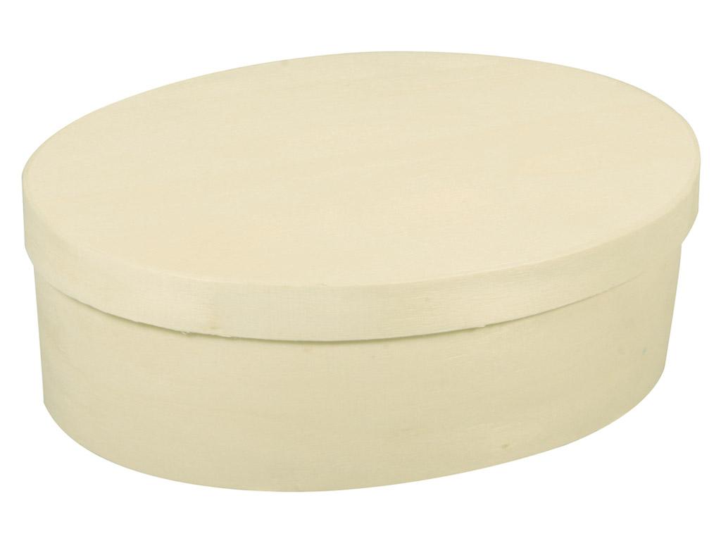 Karp puidust Rayher ovaalne 9x12x5cm