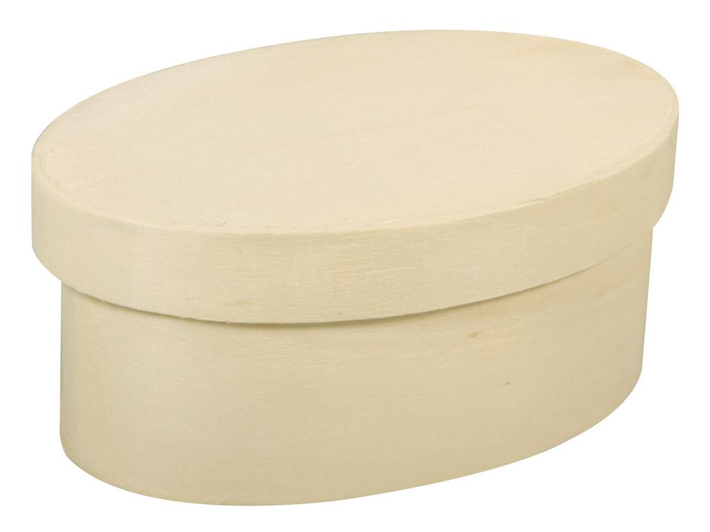 Karp puidust Rayher ovaalne 9x5.5x4cm