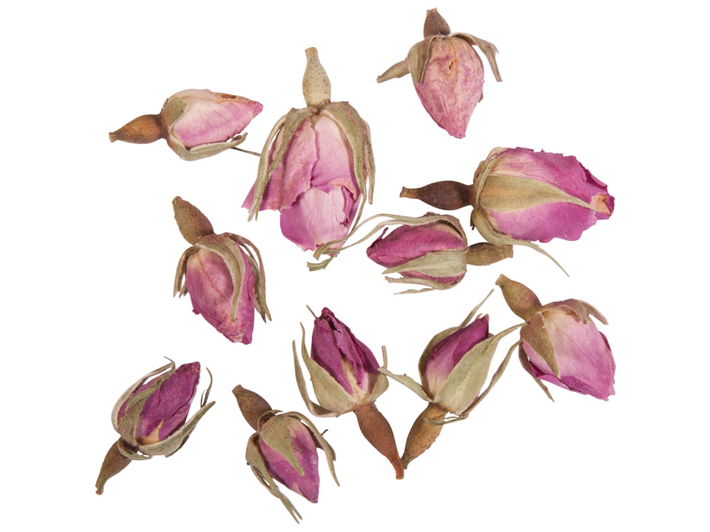 Blossoms for soap Rayher 7g pink rosebuds