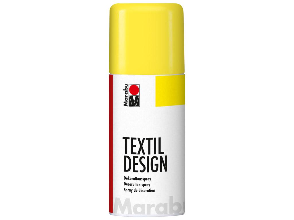 Krāsa tekstilam Textil Design aerosols 150ml 220 sunshine yellow