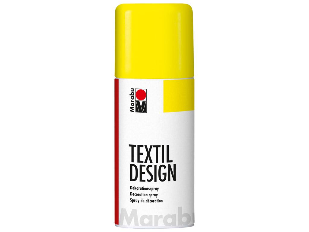 Krāsa tekstilam Textil Design aerosols 150ml 321 neon-yellow