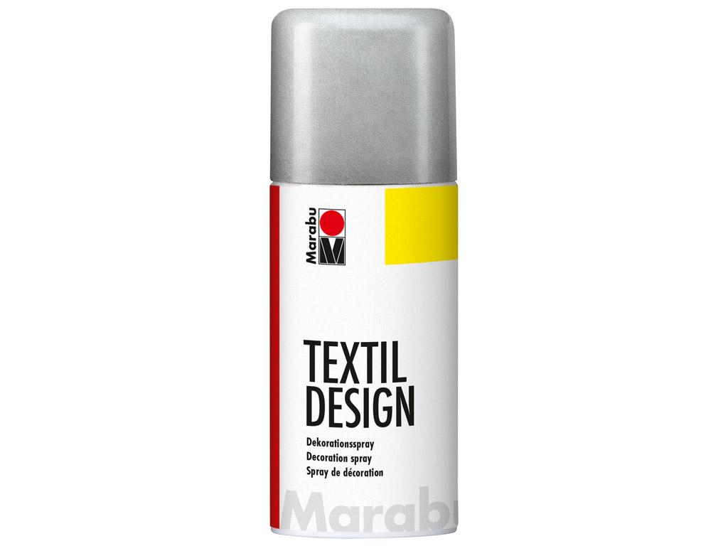 Krāsa tekstilam Textil Design aerosols 150ml 782 metallic-silver