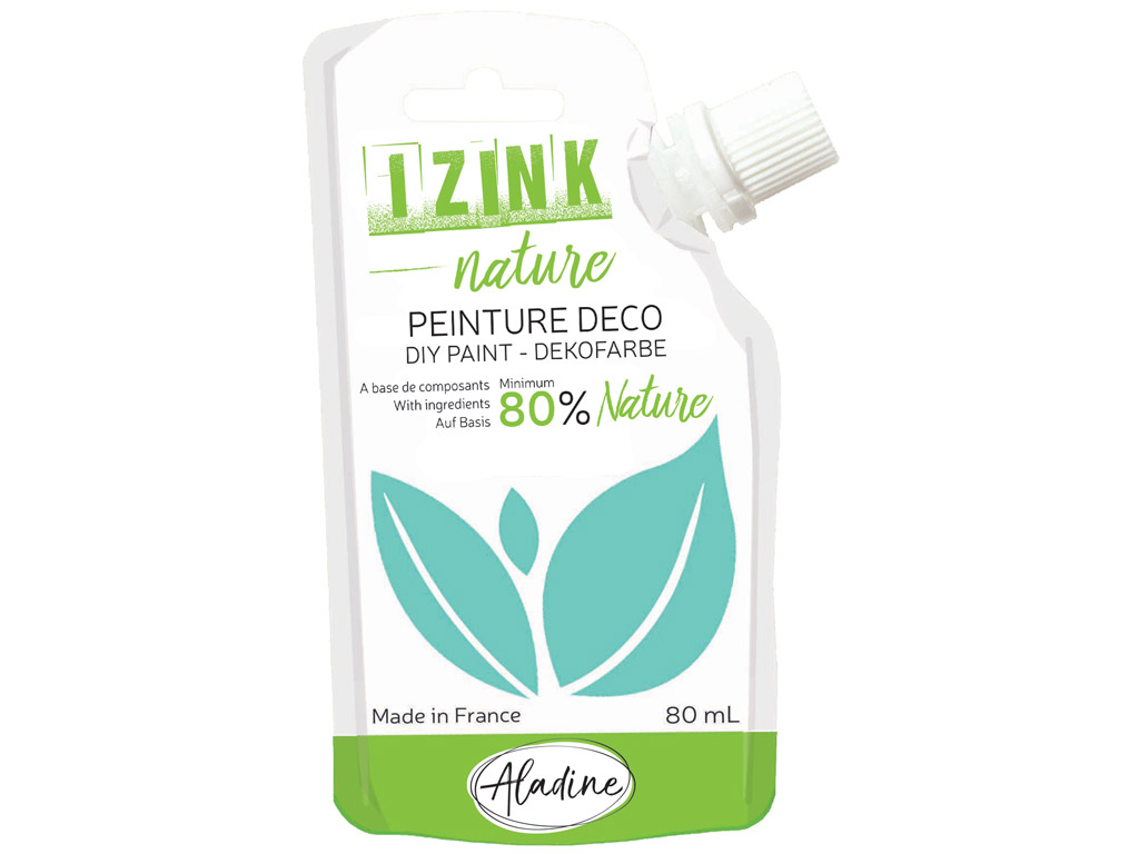 DIY paint Aladine Izink Nature 80ml water green
