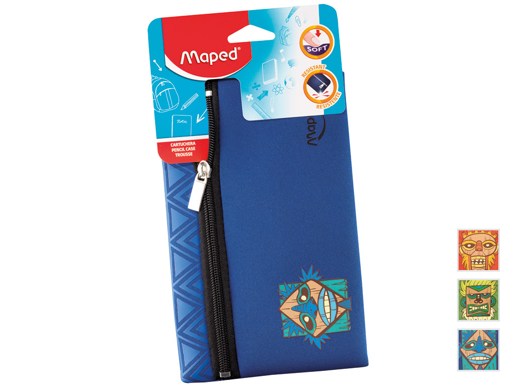 Pencil case Maped flat Boy Totem assorted