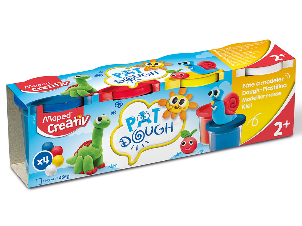 Voolimismass Maped Creativ Early Age 4x120g