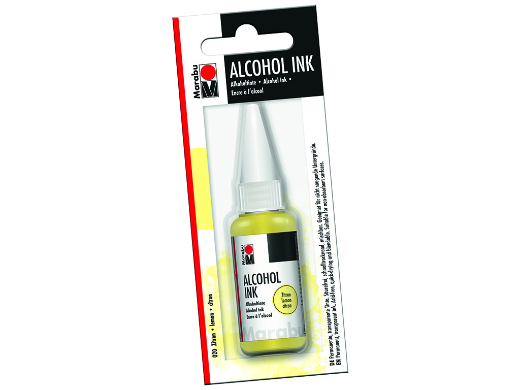 Alkoholitint Marabu 20ml 020 lemon blistril