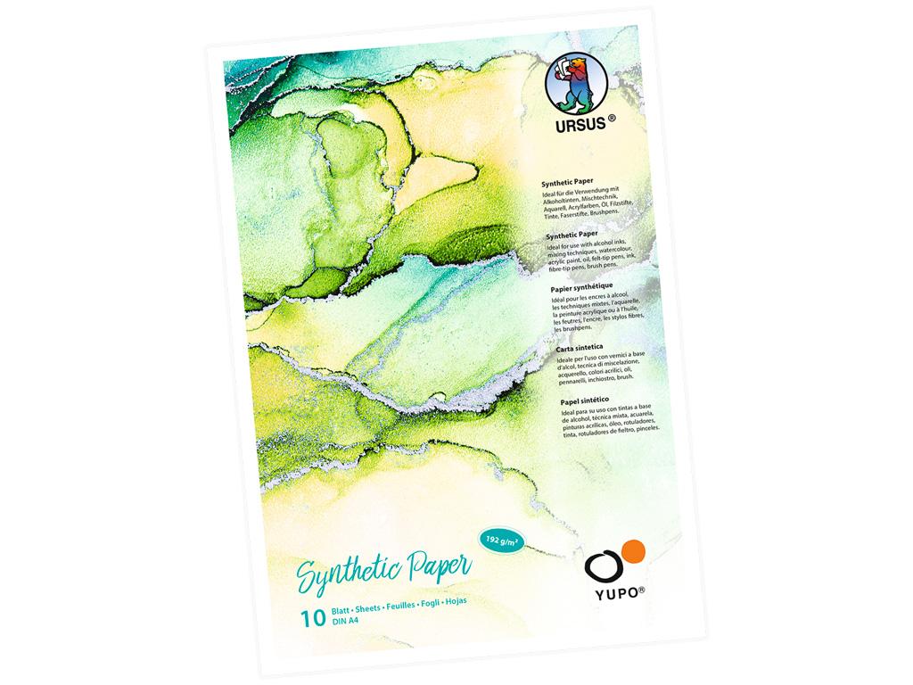 Sintētiskā papīra bloks Ursus Yupo A4/192g 10 lapas