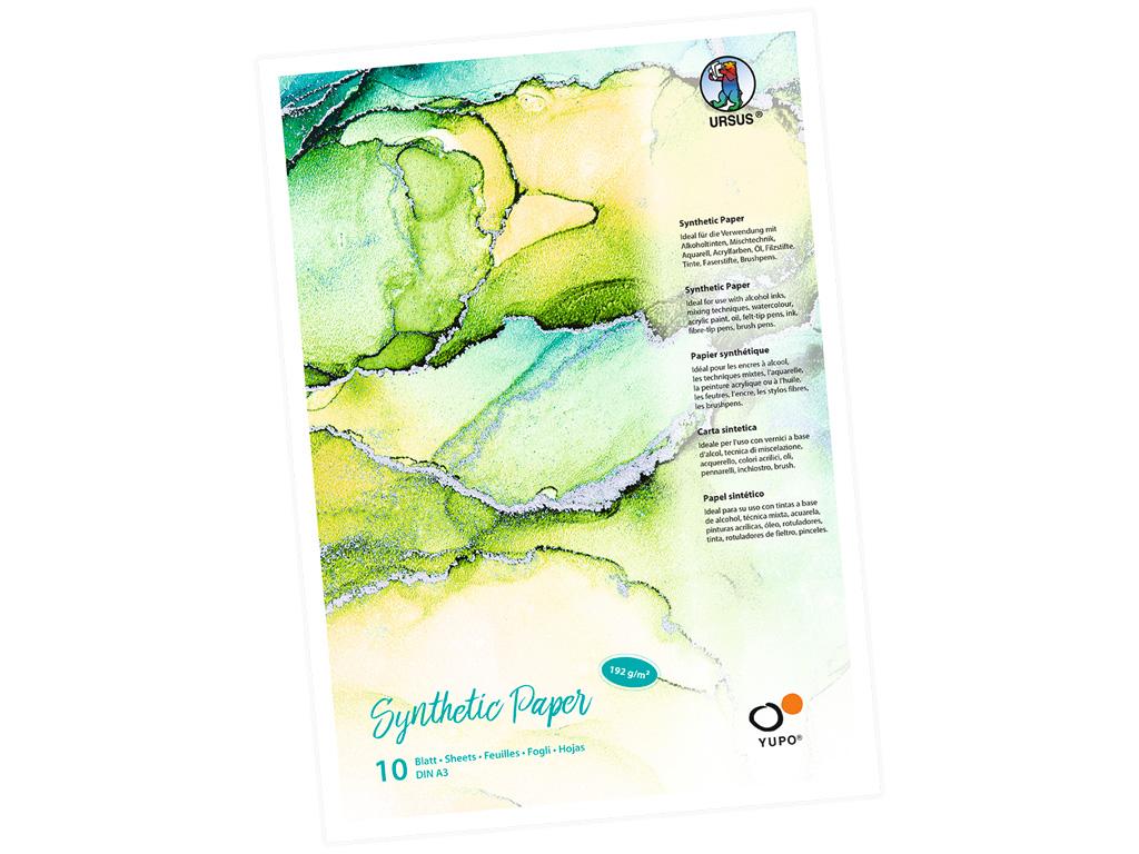Sintētiskā papīra bloks Ursus Yupo A3/192g 10 lapas