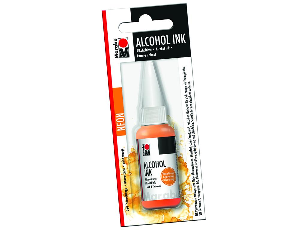 Alkoholitint Marabu 20ml 324 neon orange