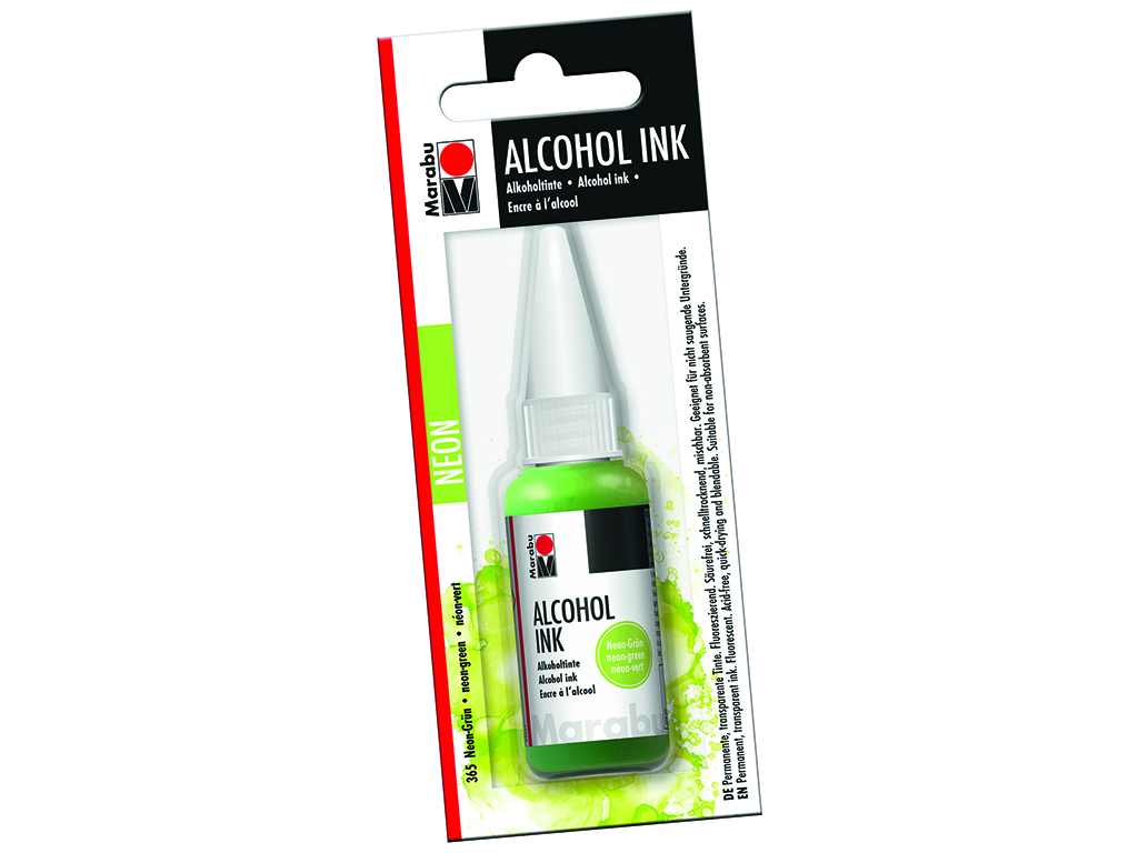 Alkoholitint Marabu 20ml 365 neon green