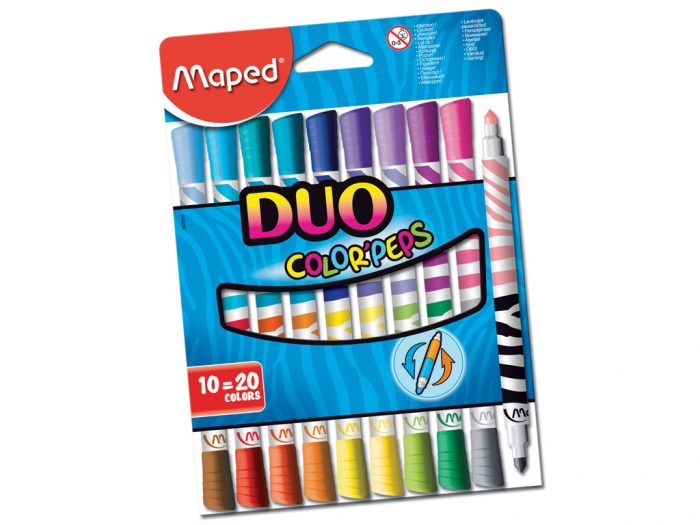 Felt pen Maped Color'Peps Duo - 1/2
