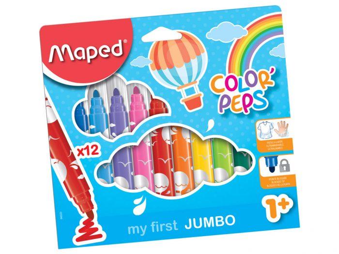 Viltpliiats Maped Color'Peps Early Age Jumbo - 1/2