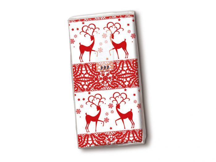 Handkerchiefs Paper+Design 10pcs winter/Christmas