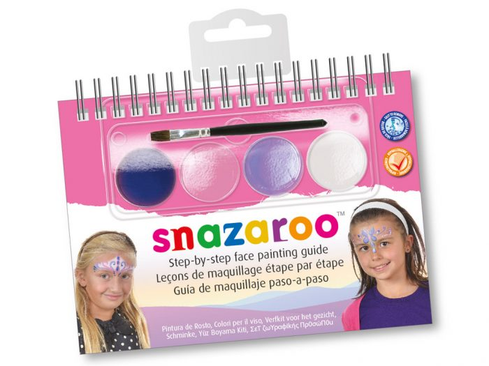 Näovärvide komplekt Snazaroo Booklet