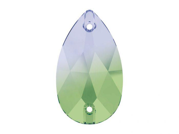 Kristallhelmes õmblemiseks Swarovski tilk 3230 18×10.5mm - 1/2