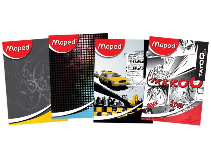 Exercise book Maped 36 sheets assortment I