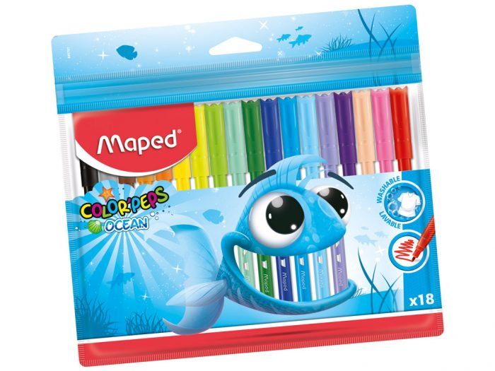 Felt pen Maped Color'Peps Ocean - 1/2
