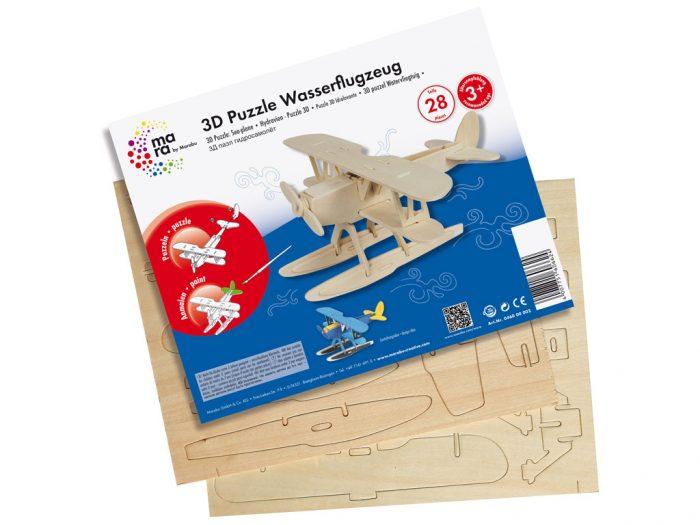 3D puzzle puidust mara by Marabu lennuvahendid - 1/3