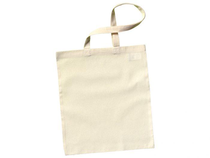 Cotton shopping bag Ideen 38x42cm long handles - 1/5