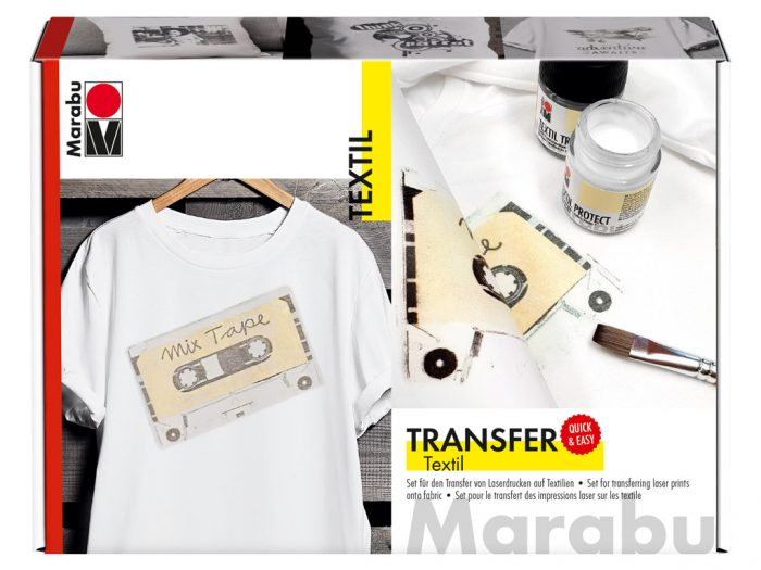 Transfer set for fabric Marabu - 1/6