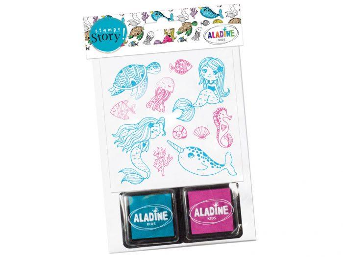 Stamp set Aladine Stampo Story - 1/2