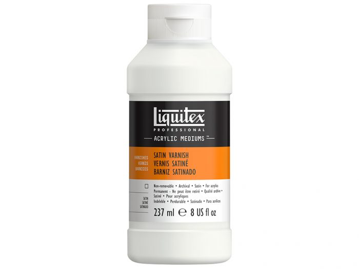 Satin acrylic varnish Liquitex